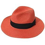 54588991c72 Lanzom Women Wide Brim Straw Panama Roll up Hat Fedora Beach Sun Hat UPF50+