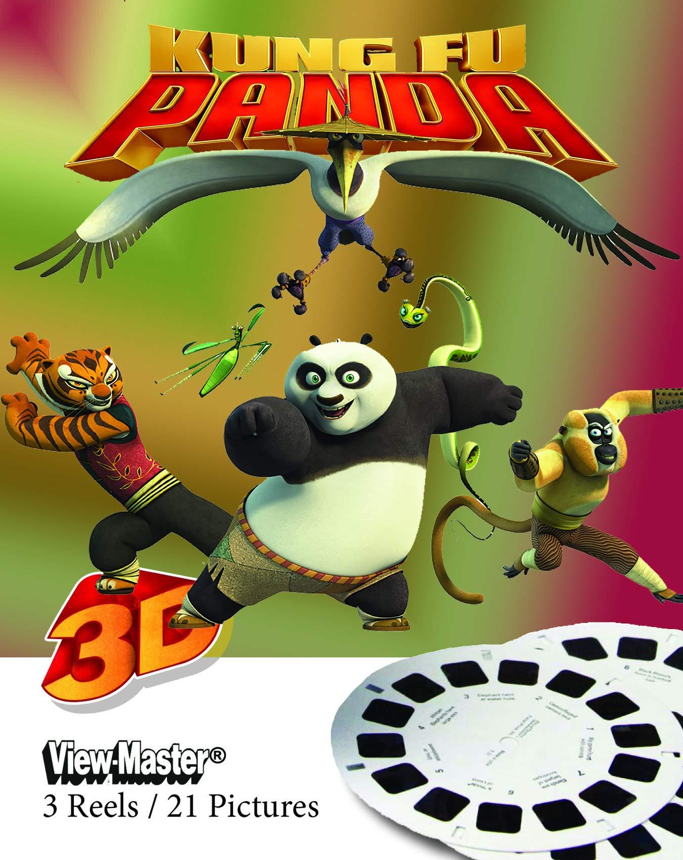 View-Master 3-Pack Reels Kung Fu Panda