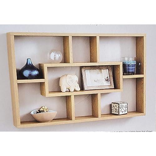 Oak Wall Shelves: Amazon.co.uk