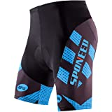sponeed Men's Cycling Shorts Padded Bicycle...