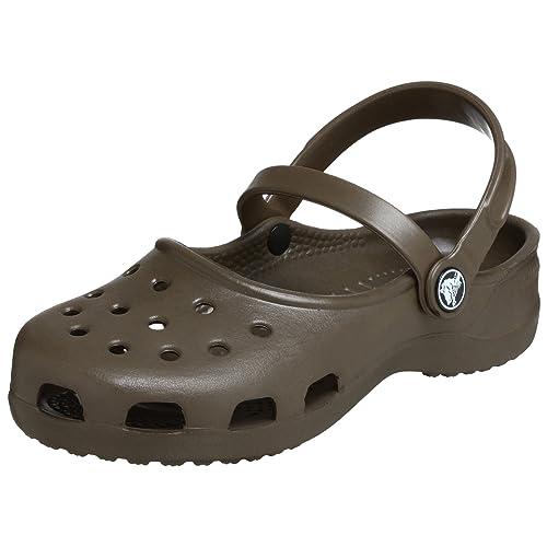 Zapatos marrones Crocs Mary Jane para mujer ty69KtNeRY