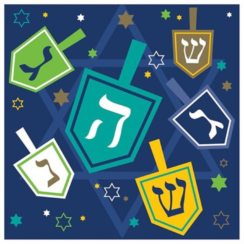 Club Pack of 192 Hanukkahアイコン使い捨て2重Beverage Napkins 5
