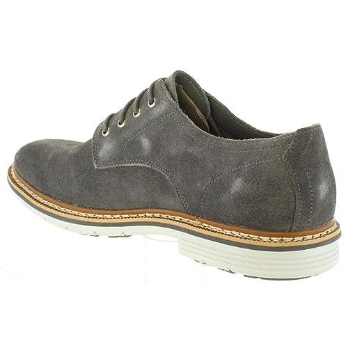 kalra Creations Hombre tradicional Rexin indio Casual zapatos, color Negro, talla 41.5 EU