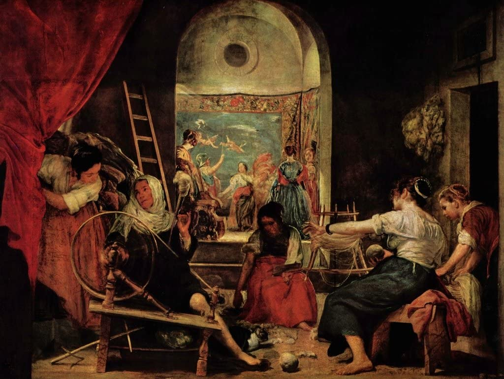 Lais Puzzle Diego Velázquez - Los Hilanderos (La Fábula de Aracne) 100 Piezas: Amazon.es: Juguetes y juegos
