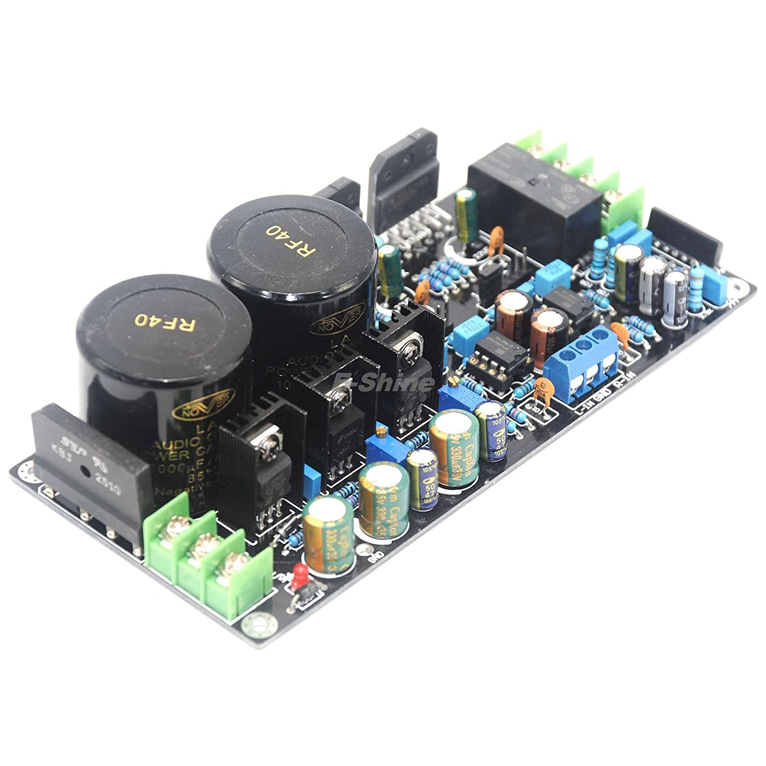 Assembled Lm3886 Opa2604 Plus Amplifier Board With Speaker Pcb Circuit Hasl Electronic Printed Maker Audio 68w Home Theater