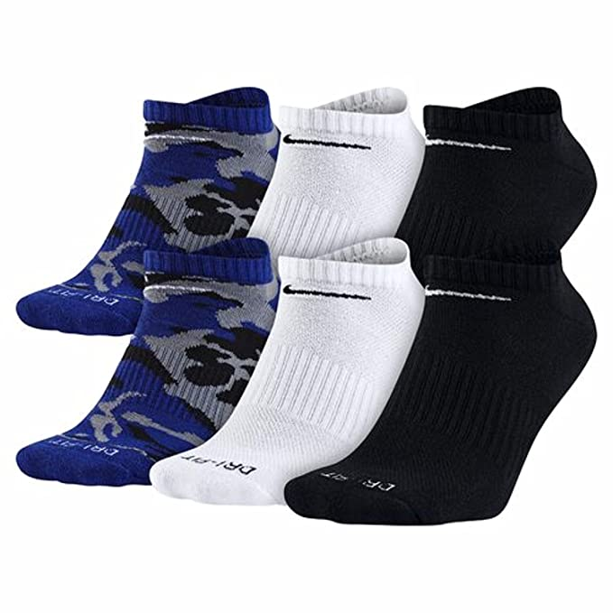c4dd9658525 Nike Dri-FIT No-Show Training Socks (Large 6 Pair) at Amazon Men s Clothing  store