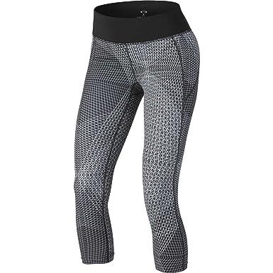 Amazon.com: Oakley Womens Active Capri Printed Pants Medium White ...