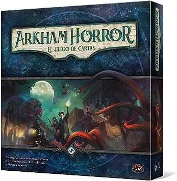 Fantasy Flight Games Arkham Horror: El Juego de Cartas de misterios arcanos y Terror Sobrenatural (Edge Entertainment EDGAHC01): Amazon.es: Juguetes y juegos