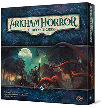 Fantasy Flight Games- Arkham Horror El El Juego de Cartas (Edge Entertainment EDGAHC01)