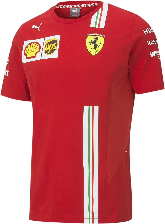 Official Formula one - Scuderia Ferrari 2020 PUMA - Camiseta de Charles Leclerc - Size:XS