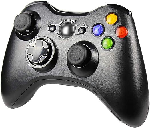 Imagen deJAMSWALL - Mando inalámbrico para Xbox 360 (2,4 GHz), mando a distancia para consola Microsoft Xbox 360, Windows PC