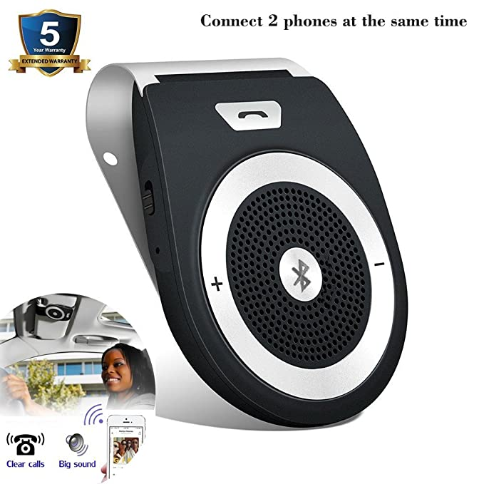Review Bluetooth Car Speakerphone, Bluetooth