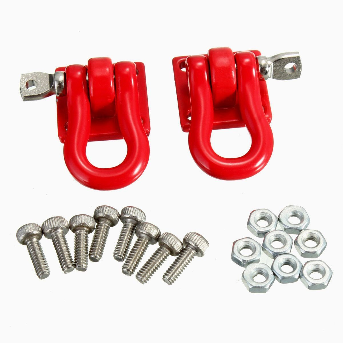 SODIAL 1 Pair Trailer Hook 1 10 Scale Accessory For RC Crawler SCX-10 Truck