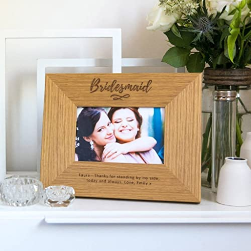 Personalized Brides Maid Wedding Picture Photo Frame