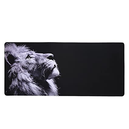Large Gaming Mouse Pad Extended Stitched Edges Mouse Pad Accuracy Optimized  for All Computer Mouse Sensitivity MMO and Sensors Fits Both Mouse &
