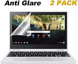 "FORITO 11.6"" Anti Glare Screen Protector Compatible with Dell Inspiron 11 11.6"" / 11.6"" Samsung Chromebook 3 / Acer Chromebook R11 CB3-131 CB5-132/11.6"" Lenovo N23 Yoga 710 / HP Chromebook 11"