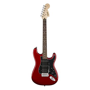 Fender 0301814609 Electric guitar Sólido 6strings Negro, Rojo: Amazon.es: Electrónica