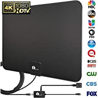 1byone 50-to-80-Mile HDTV Antenna