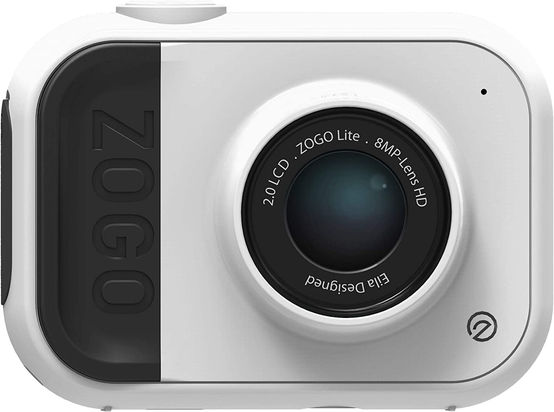 Amazon.es: Zogo Cámara 8MP y cámara de acción para niños con batería y Memoria incorporada (Blanco)