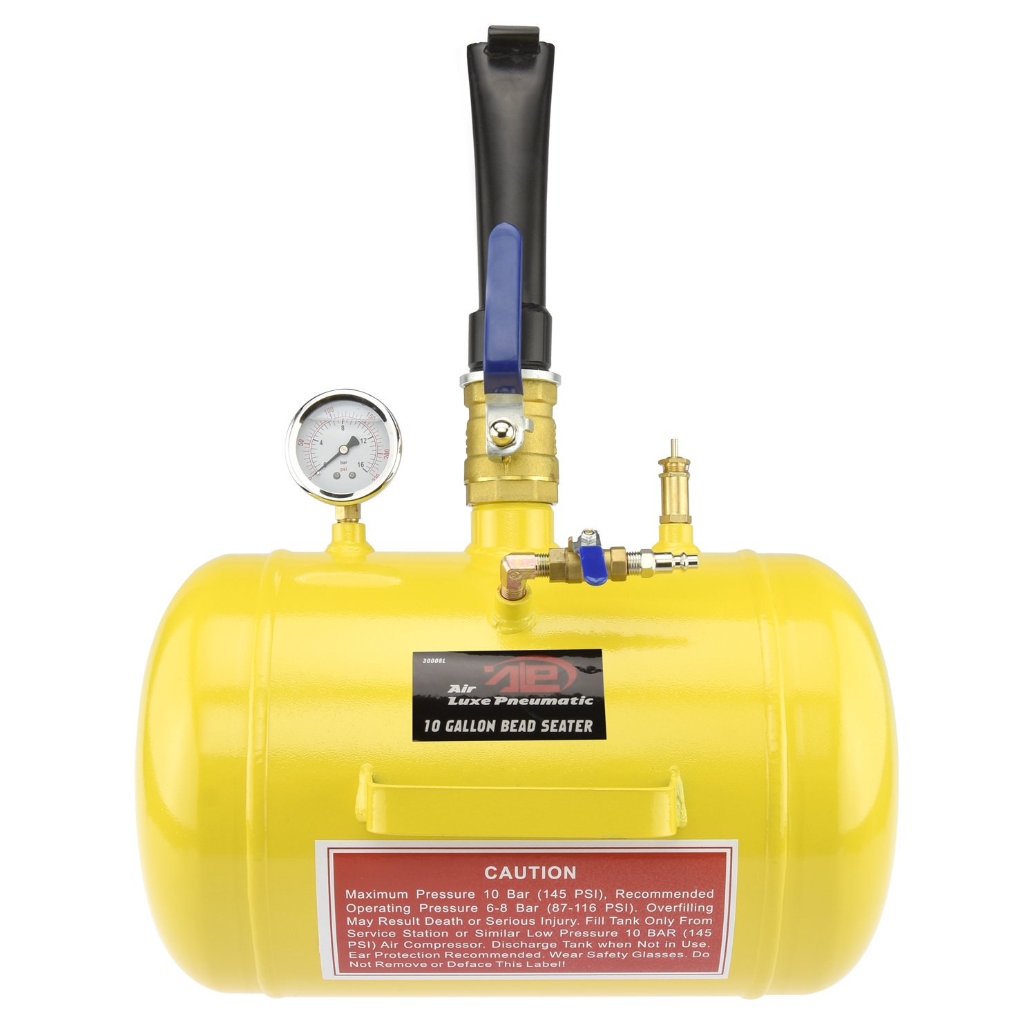 Tooluxe Tire Air Bead Seater Tool - 10-Gallon Capacity for Truck