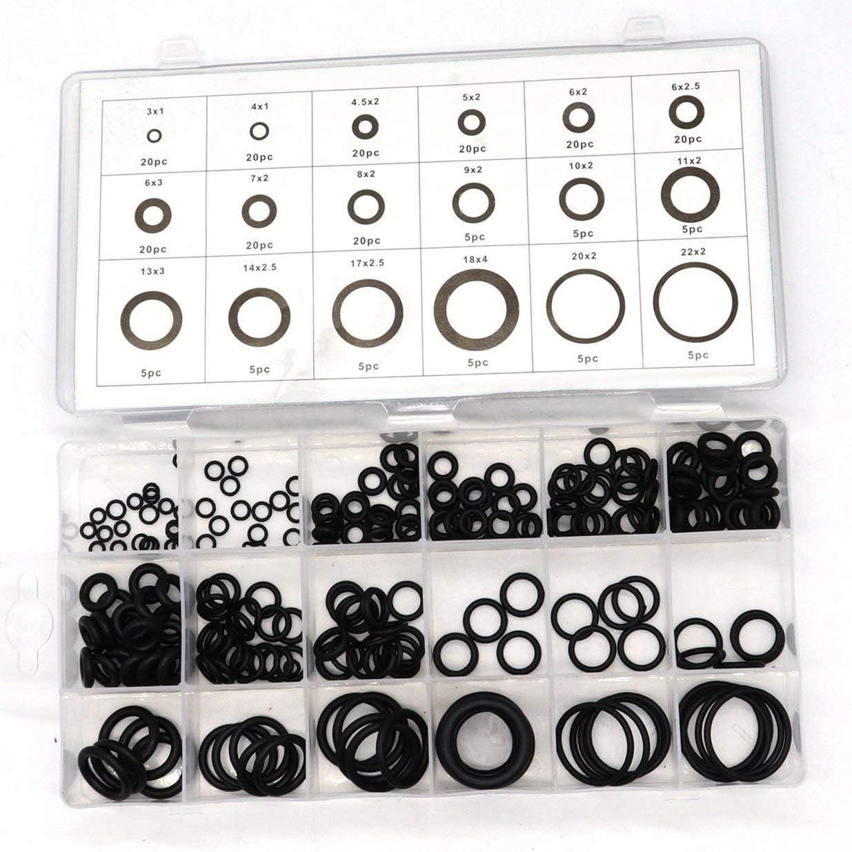 Sairis 201PCS Hot NBR O-Ring 15 Sizes High Quality Metric 70 ...