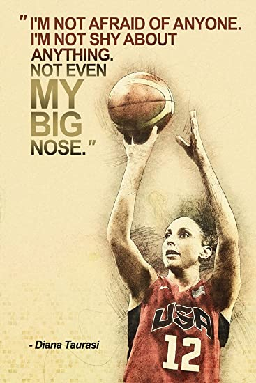 Amazon.com: Diana Taurasi Motivational NBA Basketball Quotes ...