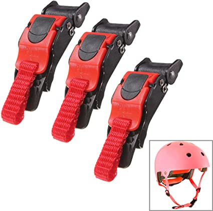 Motorcycle Helmets Speed Clip Chin Strap Quick Release Disconnect Buckle Kit