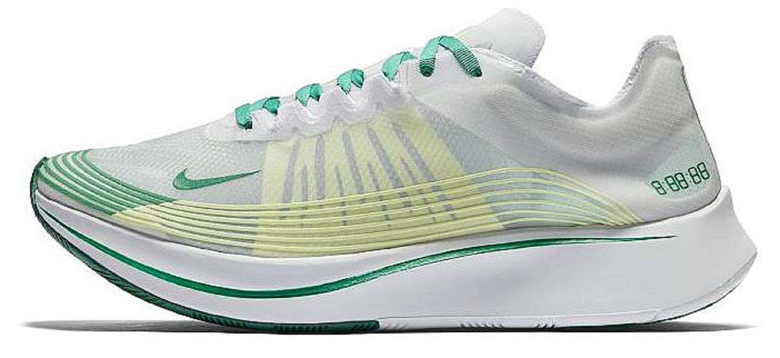 cc025eb59491 Nike NikeLab Zoom Fly SP Hong Kong White-Lucid Green SZ 10  AJ9282-
