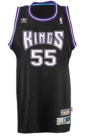 sports shoes 9a75a 7524d Jason Williams Sacramento Kings Adidas NBA Throwback ...