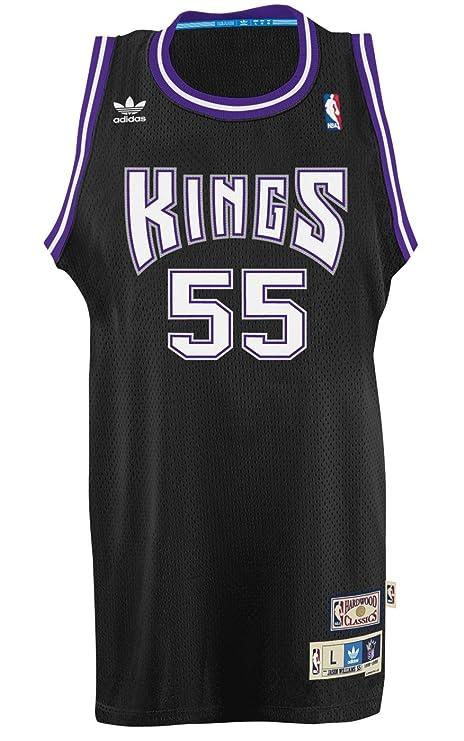 e2c911e2a Jason Williams Sacramento Kings Adidas NBA Throwback Swingman Jersey - Black