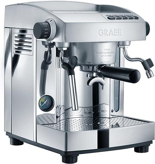 Graef ES 95 Independiente Manual Máquina espresso 3L 2tazas Acero ...