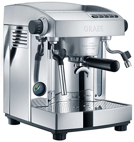 Graef ES 95 Independiente Manual Máquina espresso 3L 2tazas ...