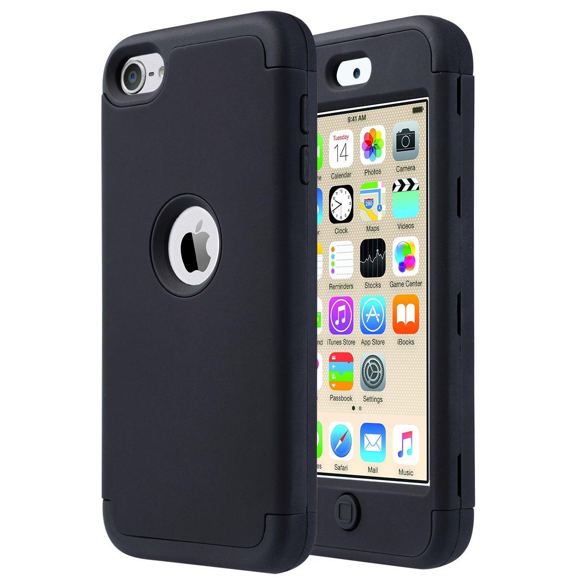 Funda Para iPod Touch 5, 6 Y 7 Generacion (negra)