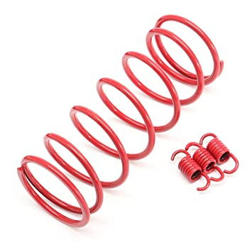 Alamor 2000 RPM Performance Tourque Clutch Springs para Gy6 150Cc 125Cc Scooter Chino: Amazon.es: Coche y moto