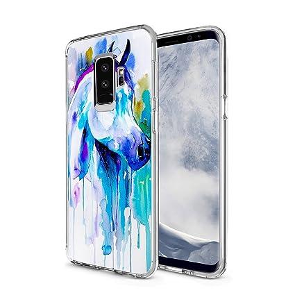 Amazon.com: Carcasa para Samsung Galaxy S9 Plus, diseño ...