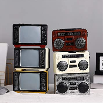 Amazon De Rouyuan Retro Vintage Radio Dekoration Kreative