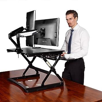 Amazoncom Desktop Workstation Combo 35 Wide Platform Height