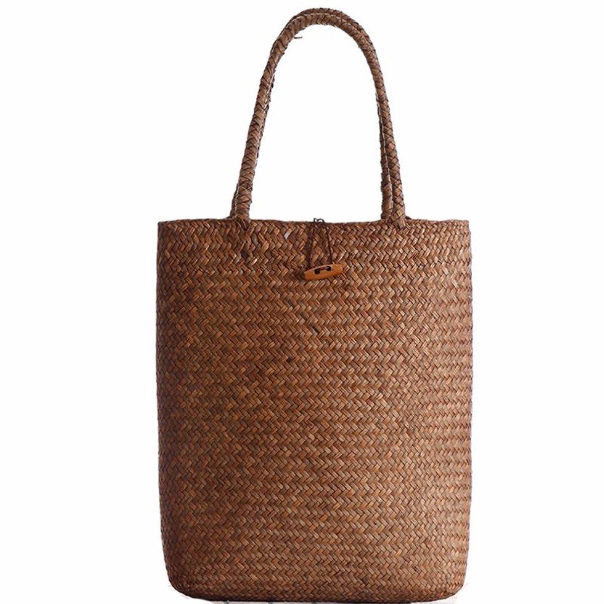 GTVERNH-der Frauen/Mode Handtasche/All-Match/Mori Gewebte Taschen umhängetaschen Stroh Gewebte Taschen pastoralen Beach - Taschen Frauen - Taschen - Taschen.