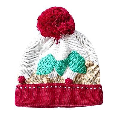 Genda 2archer Weihnachten Winter Hut Baby Kinder Mädchen Häkeln