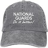 Men And Women National Guard Do It Better 1 Vintage Jeans Baseball Cap