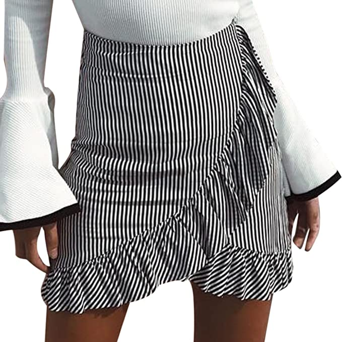 c6bc36289 Rcool Falda Corta Faldas Faldas Mujer Invierno Faldas largas Falda Flamenca  Mujer