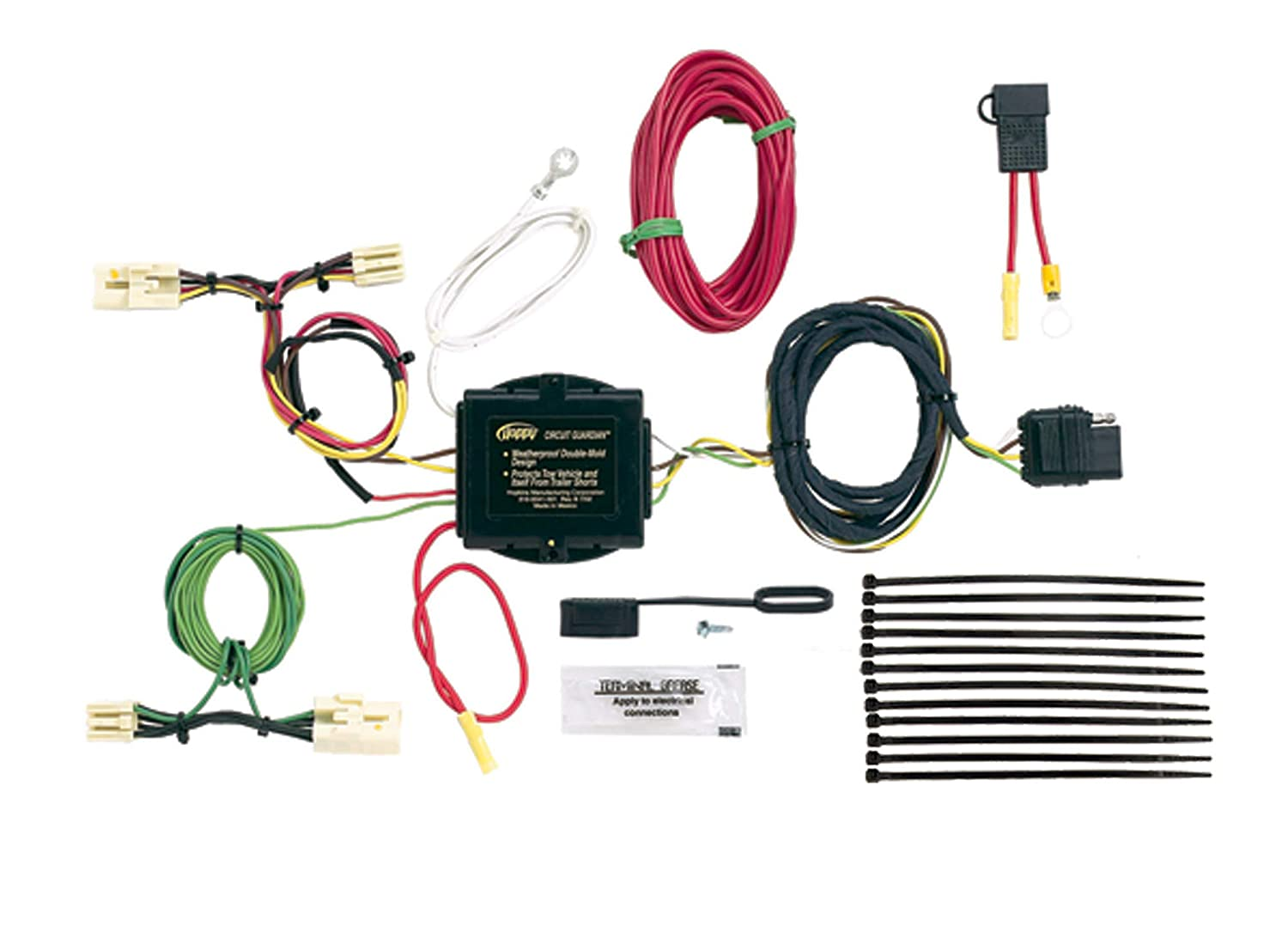 Hopkins 43944 Plug-In Simple Vehicle Wiring Kit Hopkins Towing Solution