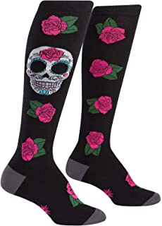 Amazon.com: Calavera Smile Athletic calcetines calentador de ...