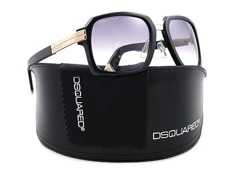 Amazon.com: Dsquared2 Gafas de sol DQ 0009 Negro 01B dq0009 ...