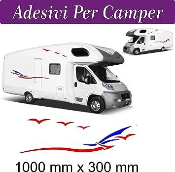 good service uk availability get online Amazon.fr : Lot de 2 stickers pour Camper Van/camping-car ...