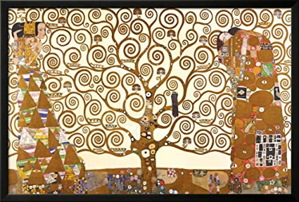 ART POSTER Tree Of Life Gustav Klimt