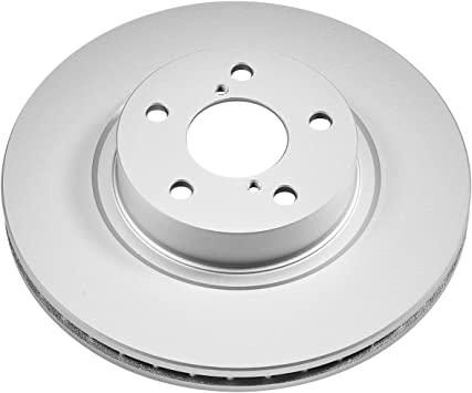Disc Brake Rotor-Evolution Genuine Geomet Coated Brake Rotor Front Power Stop