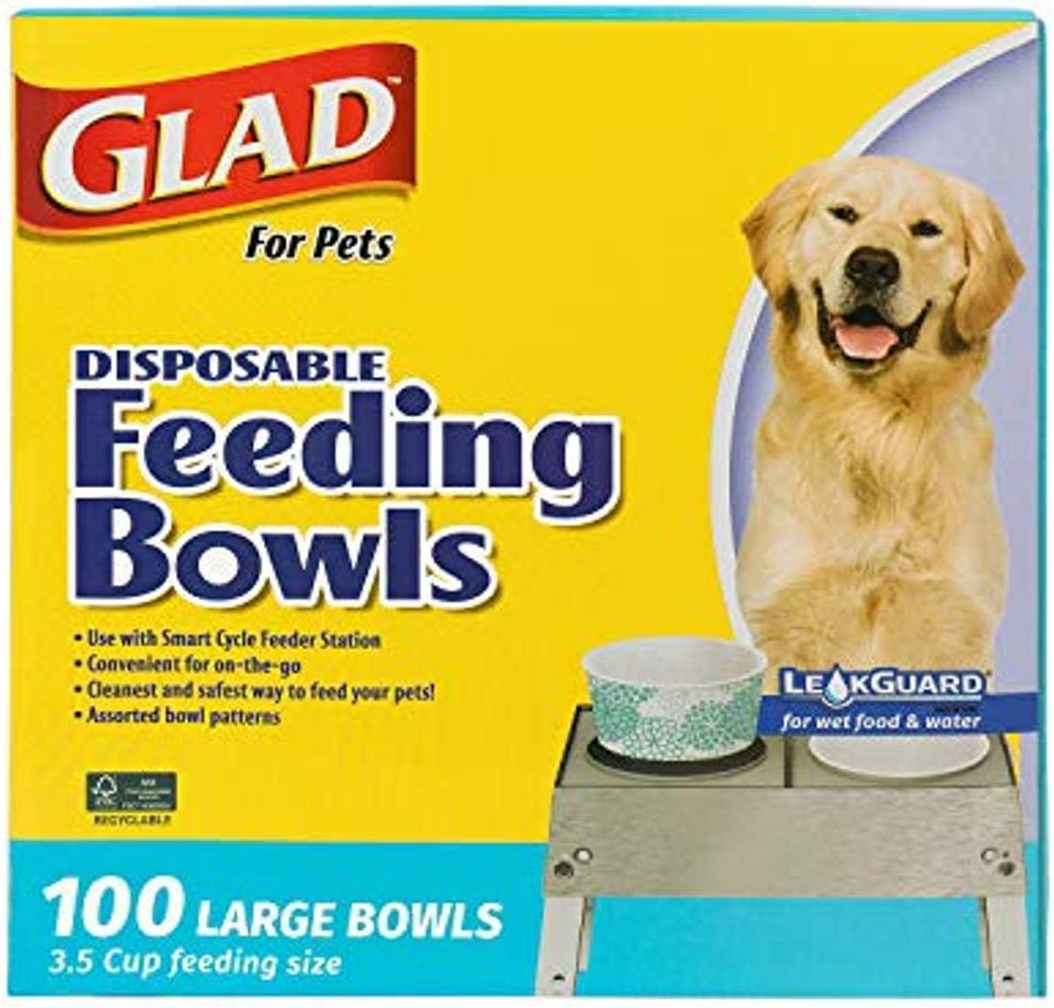 Glad for Pets Disposable Feeding Bowls
