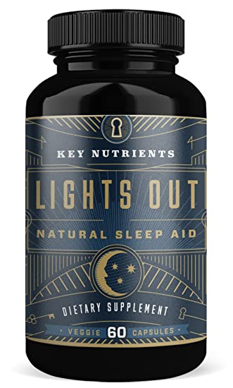 Key Nutrients, Lights Out, Natural Sleep Aid