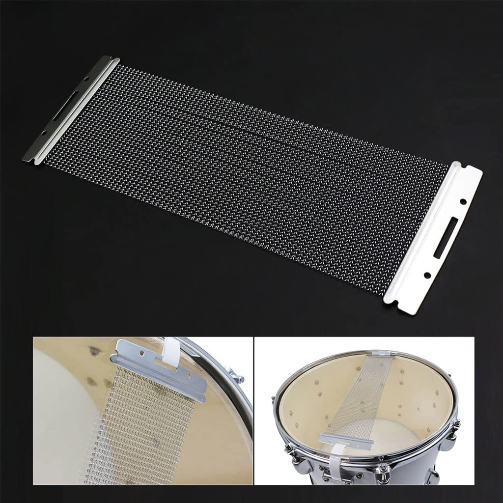 Abicial Steel Wire 20-42 Strands Drum Spring For 10-14 Inch Snare Drum Cajon Box Drum
